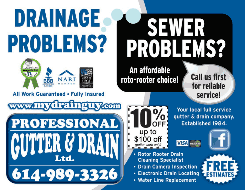 Sewer Amp Water Division Professional Gutter And Drain