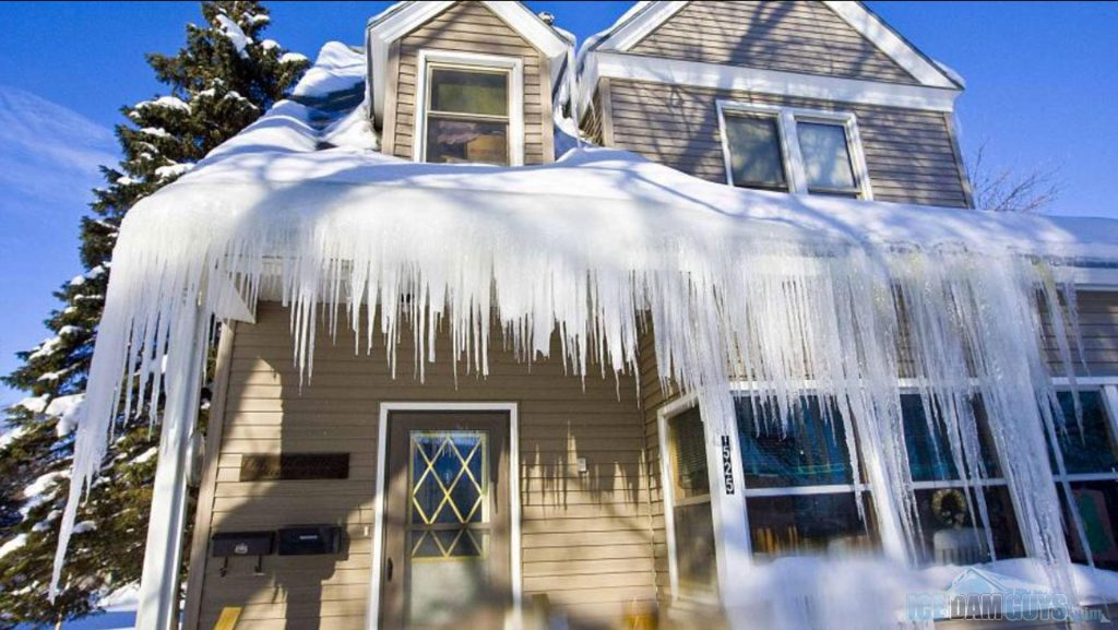 Ice Dam Removal, Winterize gutters, Gutter cleaning